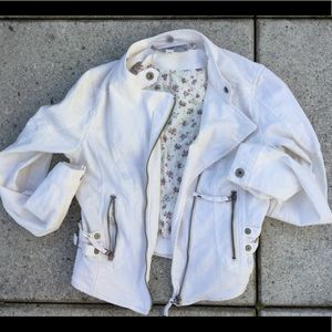 Guess Jeans white Jean jacket